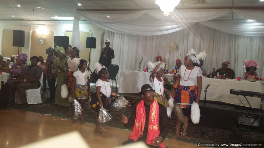 Igbo Union Canada Cultural display