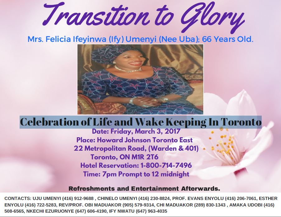 celebration-of-life-Felicia-toronto