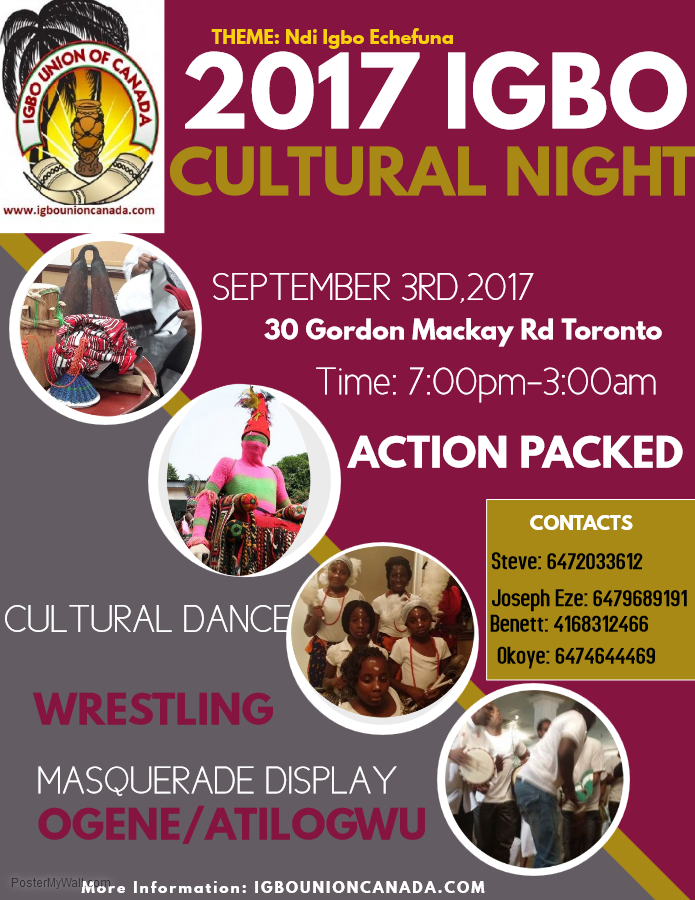 igbo cultural night 2017