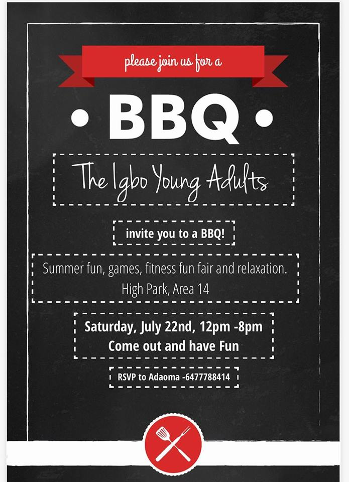 Igbo Young Adults  picnic on July 22 2017